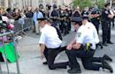 NYPD lieutenant apologizes to colleagues for kneeling during protest