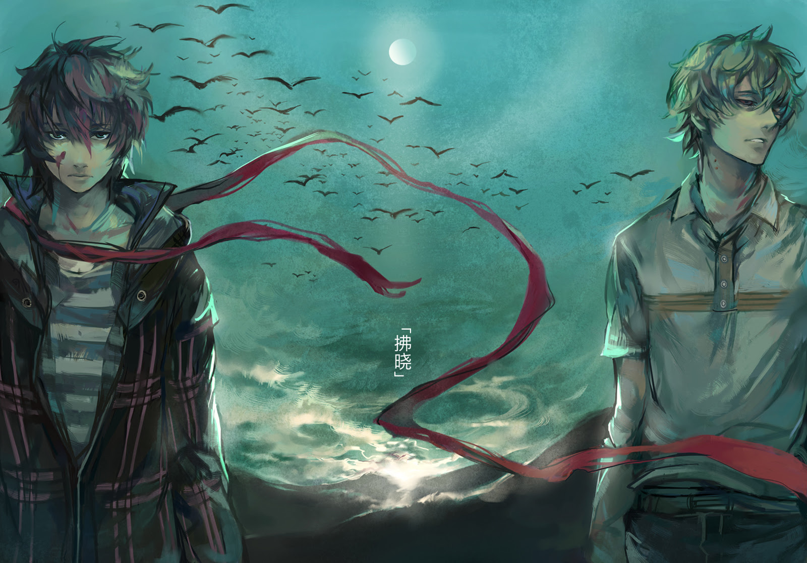 Anime Guy Wallpaper HD - WallpaperSafari