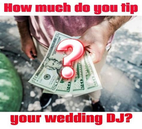How Much Do You Tip Your Wedding DJ?   Austin's Best DJs