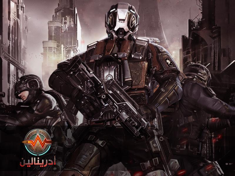 adrenaline 5 ادرينالين .. لعبة رماية قتالية عربية جماعية