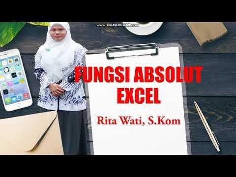 Fungsi Absolut Dalam Ms.Excel