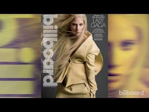 lady gaga donna dell'anno su billboard magazine