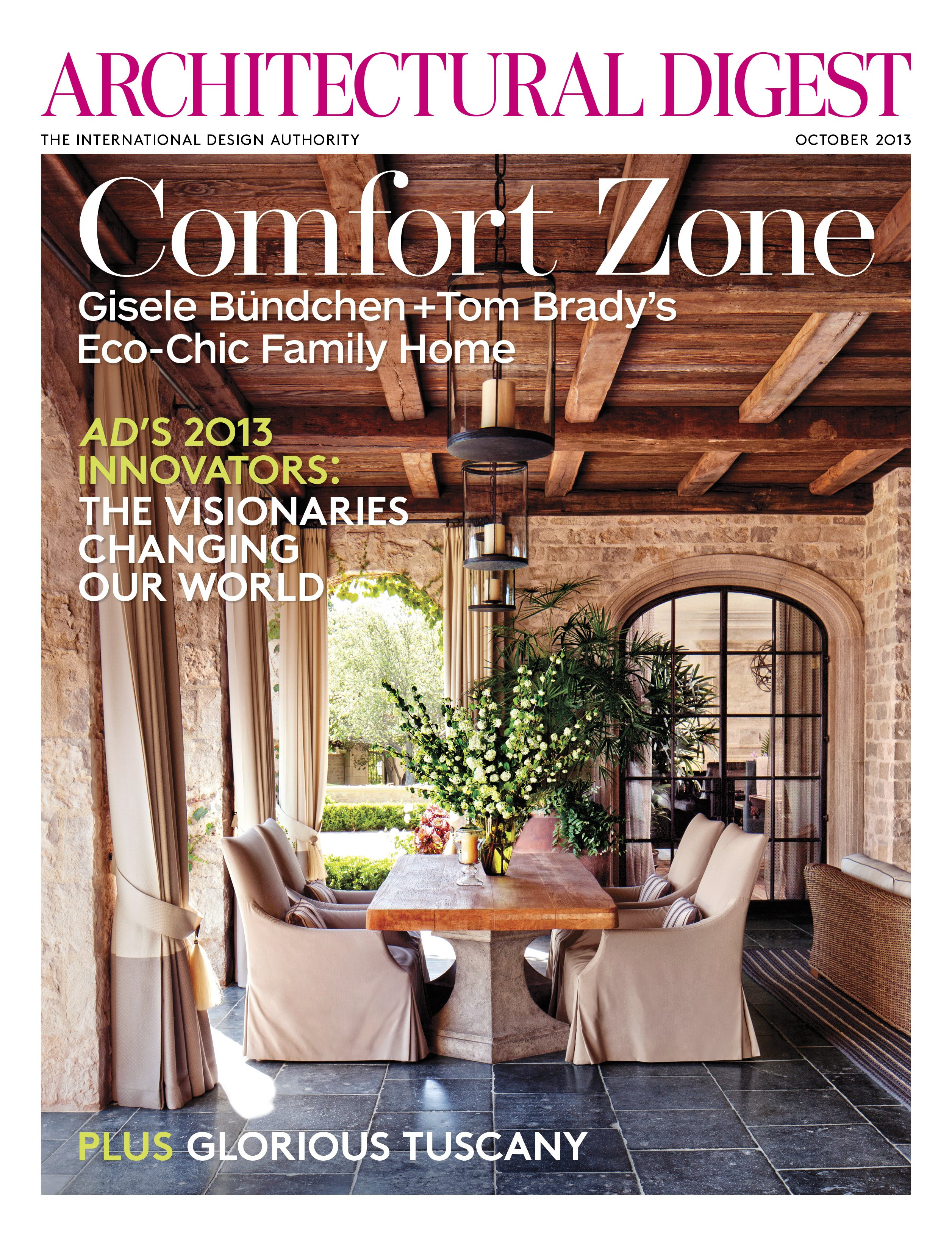 Architectural Digests October Issue Features A Beautiful Apartment
