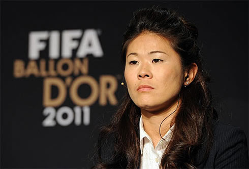 FIFA Women's World Player of the Year 2011-2012, Homare Sawa from Japan