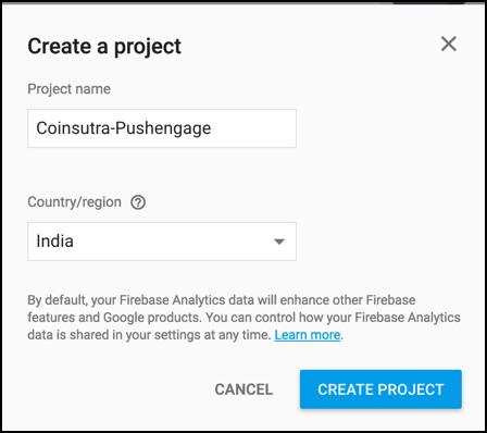 Firebase Project