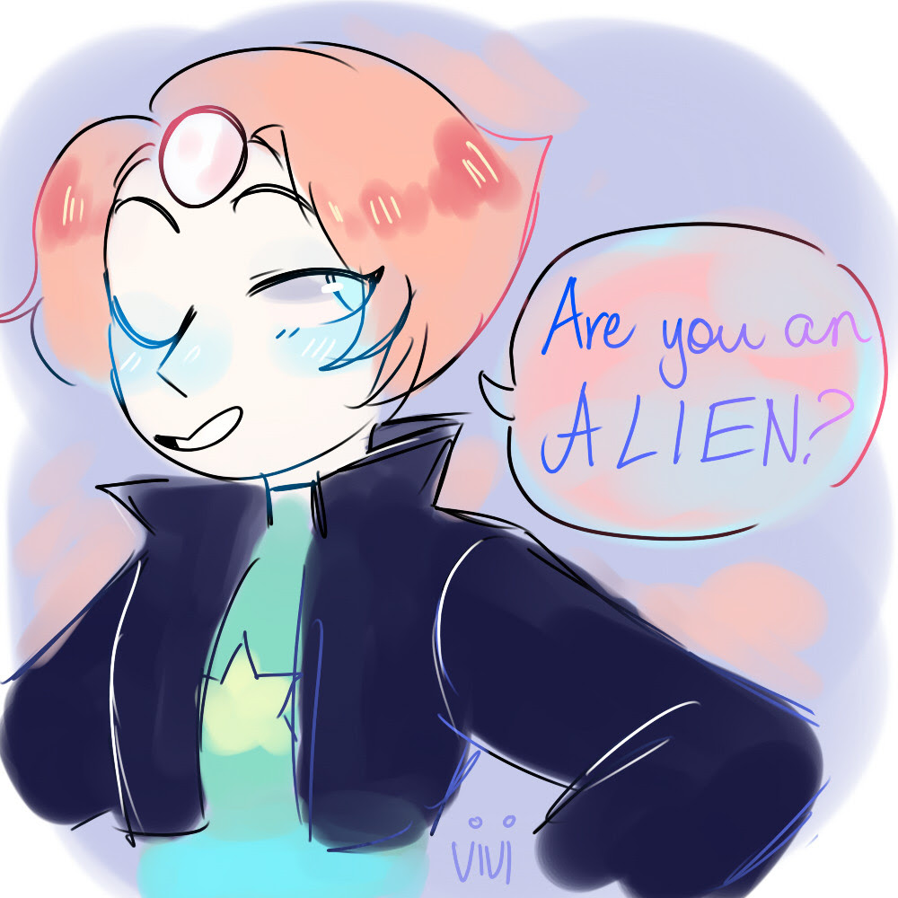 let pearl say cheesy pick up lines