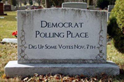 deomcrat polling place