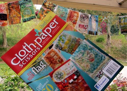 Cloth Paper Scissors march april 2012