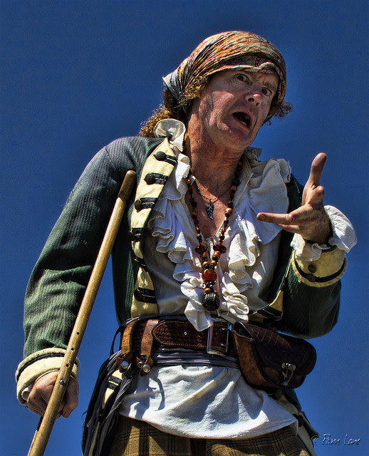 Belmont Pier Pirate Invasion 1 closeup