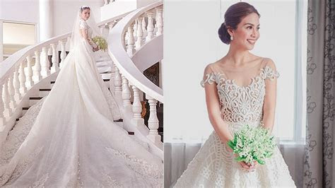 Beautiful Pinoy Celebrity Wedding Gowns   SPOT.ph