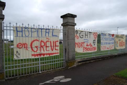 Un préavis de grève est déposé pour demain au centre hospitalier spécialisé de l'Yonne, à Auxerre. - cindy bonnaud