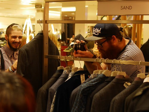 """Decembeard"" Event At Harvey Nichols, Edinburgh - 7"