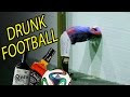 Two Drunk Teams Play Football Against Each Other - Video