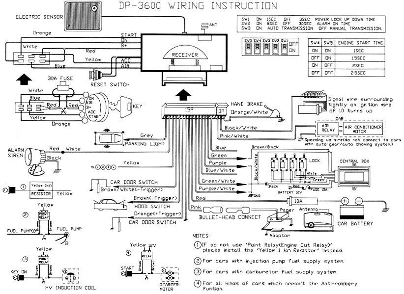 giordon car alarm system wiring diagram image 3