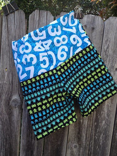 Space Invaders Shorts