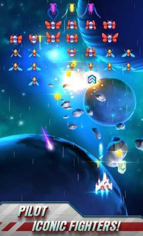 Galaga Wars unlimited money mod apk