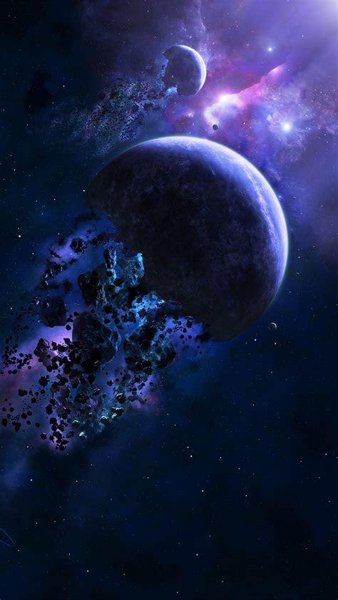 planet destruction iphone wallpaper hd