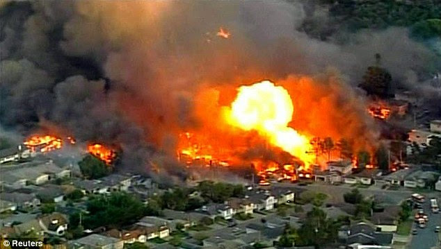 Image result for picture of gas explosion