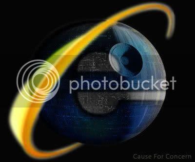 Internet Explorer Death Star