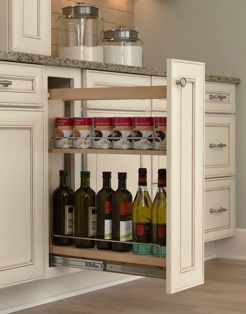 Hidden Kitchen Storage: Turn a Filler Panel Into a Pull ...