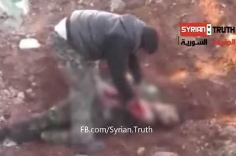 rebelde sírio come coração soldado