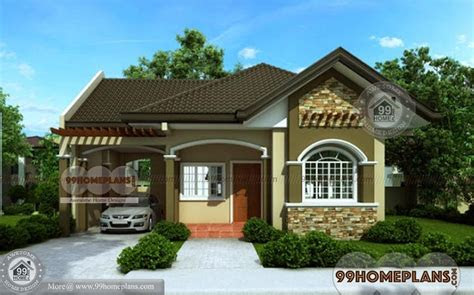 bungalow house designs  home plan elevation