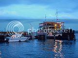 Melihat Aktifitas Pelabuhan Ketapang Di Sore Hari