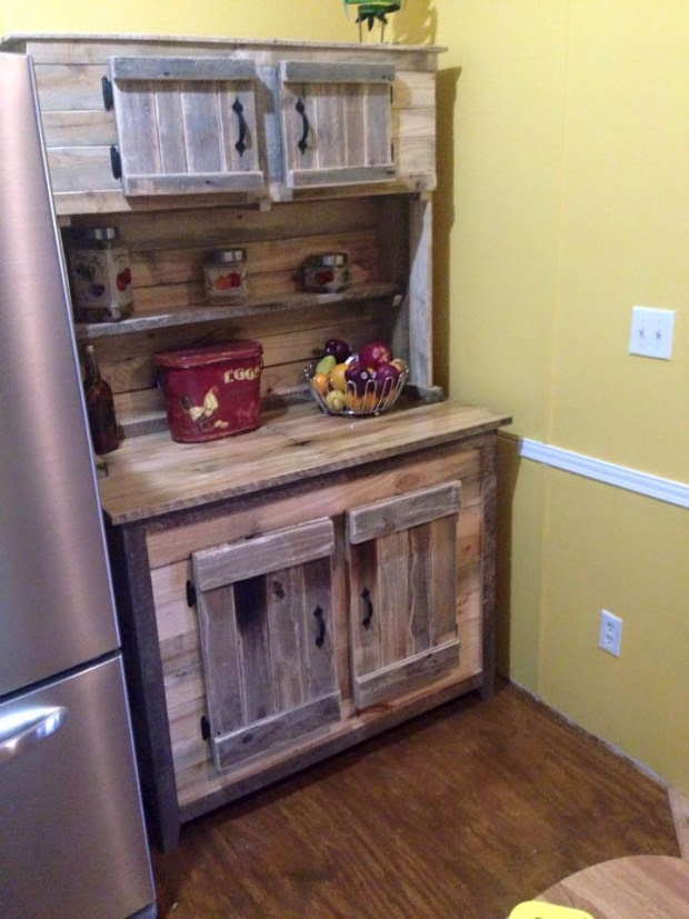 Pallet Projects for Kitchen | Pallet Ideas