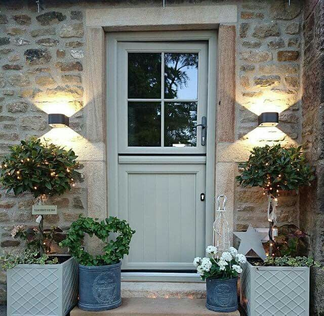 Modern Country Style Belgian Style And Modern Country: Modern Country Style: Farrow And Ball Front Doors