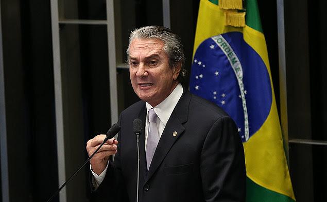 O senador Fernando Collor de Mello (PTB-AL), alvo de nova fase da Operação Lava Jato