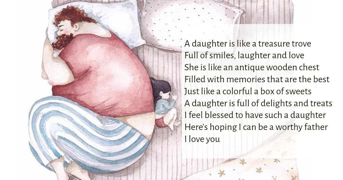 Inspirational Poems For Daddy From Baby Girl