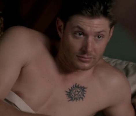 Deans New Antipossession Tattoo Supernatural