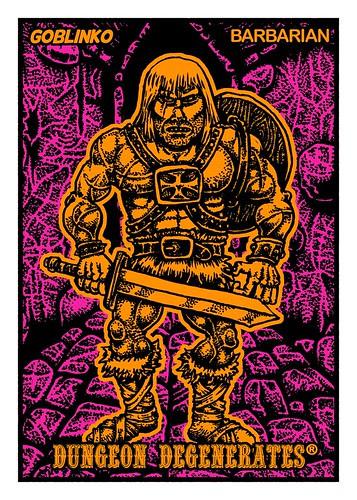 Dungeon Degenerates: Barbarian