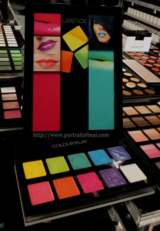 Inglot Colourplay Freedom System Lipsticks
