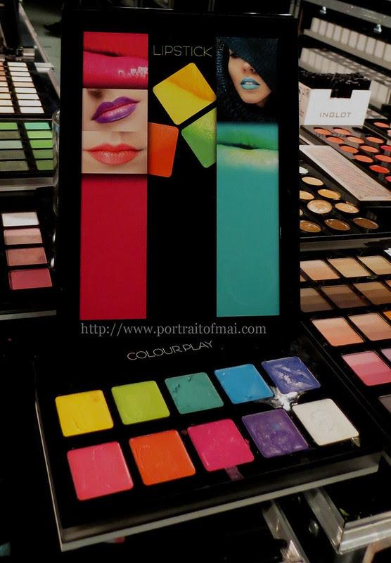 Inglot Colourplay Freedom System Lipsticks