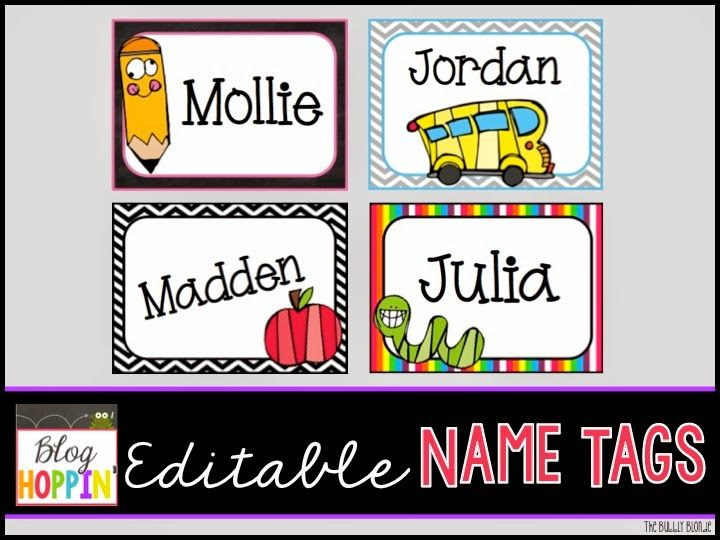 1000+ ideas about Classroom Name Tags on Pinterest | Classroom ...