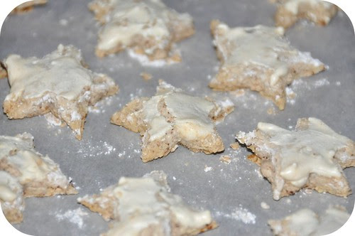 Almond star cookies