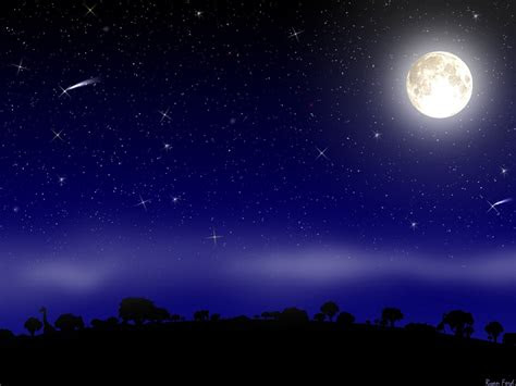 pemandangan langit  malam hari pemandanganoce
