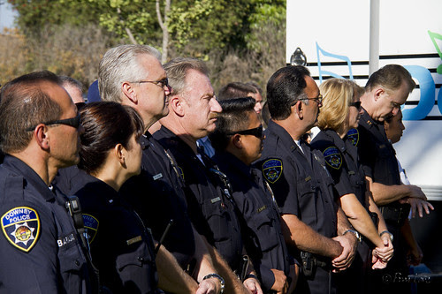 9-11 10th Anniversary Downey police