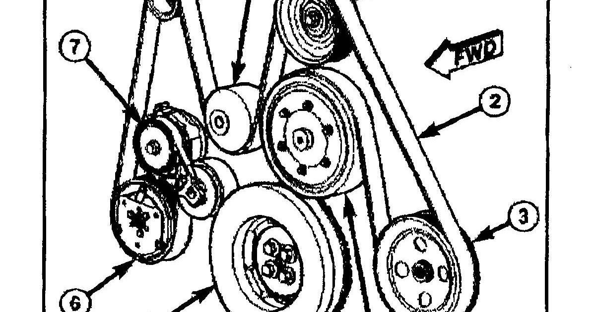 29 67 Cummins Serpentine Belt Diagram