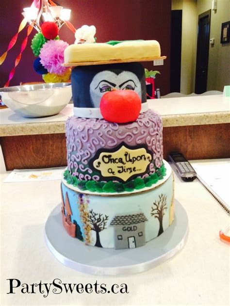 Once Upon A Time   Party Sweets Cake Decorating