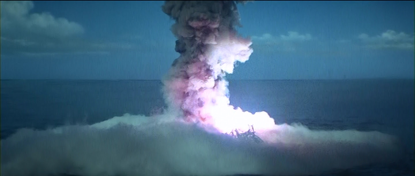 Ah, volcanoes triggered by nuclear meltdowns.  Those never get old.