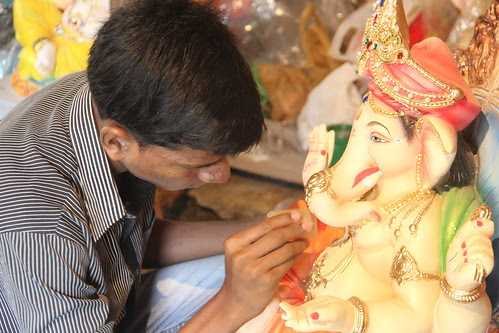 Ganesha Workshops Ganesh Gully Lalbagh by firoze shakir photographerno1