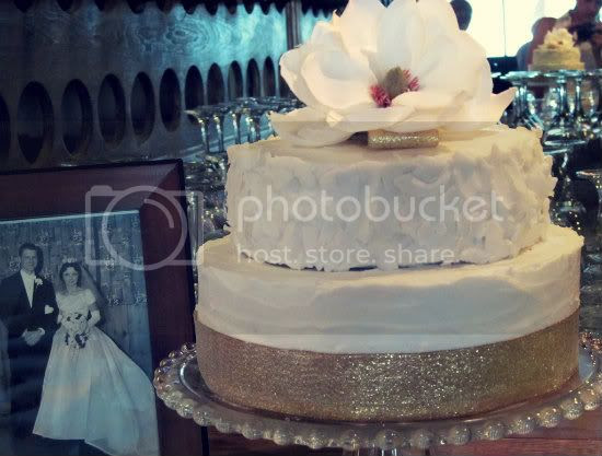 Peggy & Camp's anniversary cake