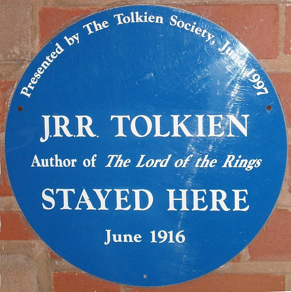 File:Tolkien's Plough and Harrow blue plaque.jpg
