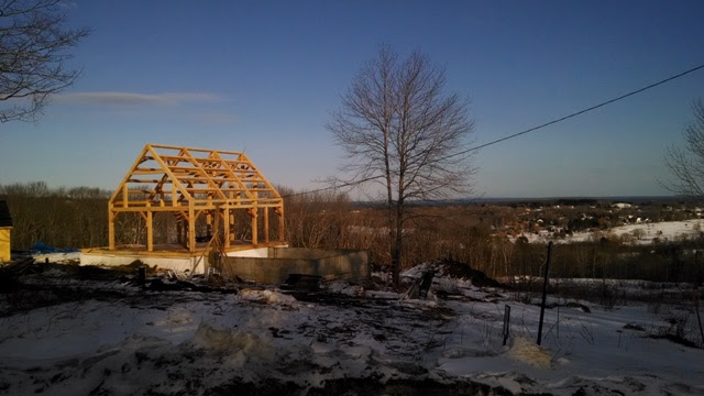 26 X 32 Timber Frame Black Dog Timberworks