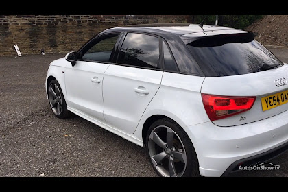 Audi A1 S Line White Black Roof