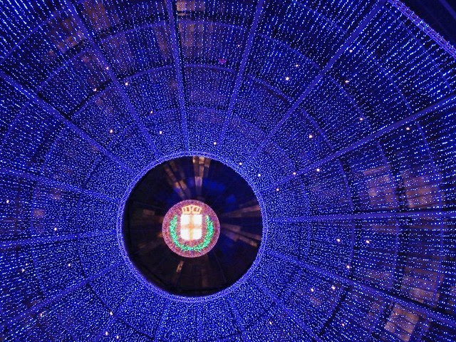 Blue Christmas Dome | pic in comment
