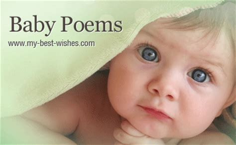New Baby Poems ~ Best New Baby Poems   www.my best wishes.com
