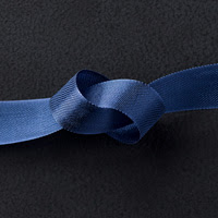 Night of Navy 1/2 Seam Binding Ribbon by Stampin' Up!